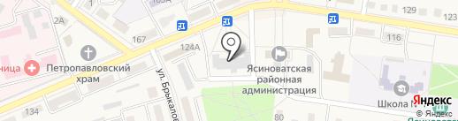 АБ Экспресс-Банк, ПАО на карте Ясиноватой