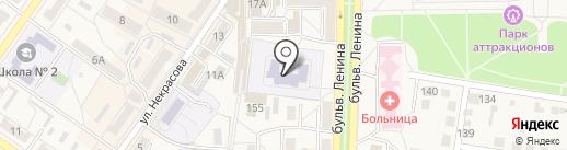 Детский сад №11 на карте Ясиноватой