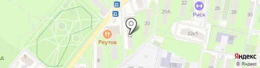 Магазин детских товаров на Советской на карте Реутова