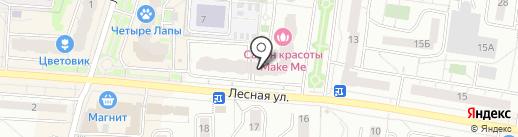 Суши Wok на карте Дзержинского