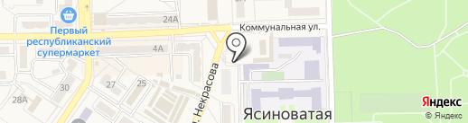 Мастерская на карте Ясиноватой