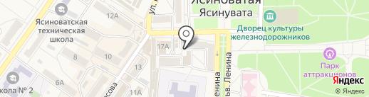 Зевс на карте Ясиноватой