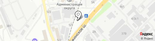Автошина Сервис на карте Котельников