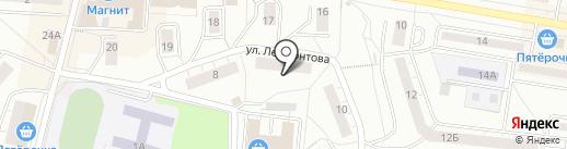 ДИСК на карте Дзержинского