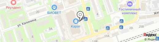 Эконом-карман на карте Реутова
