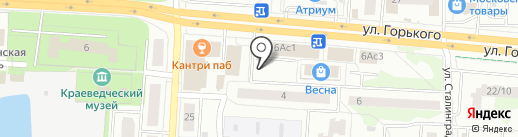 Меркатор на карте Королёва