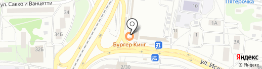 Автопилот на карте Королёва