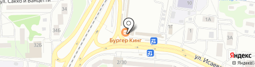 Burger King на карте Королёва