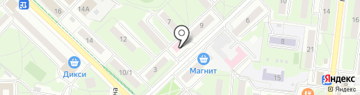 Зоо-Толстопуз на карте Реутова