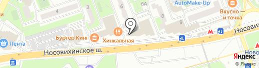 Моисеев и партнеры на карте Реутова