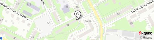 Техмоссервис на карте Пушкино