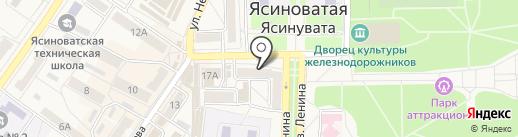 КБ ПриватБанк, ПАО на карте Ясиноватой