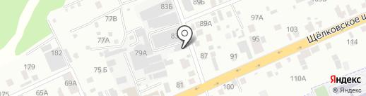 Сигма-Вент на карте Балашихи