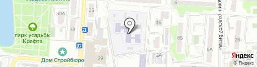Детский сад №27 на карте Королёва