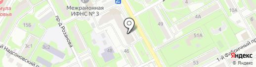 Магазин товаров для ремонта на карте Пушкино