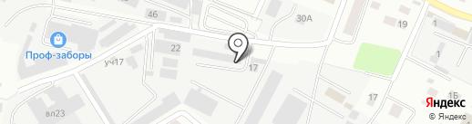 FlexiPark на карте Пушкино