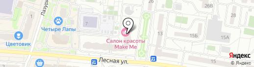 Кристалл-Лефортово на карте Дзержинского