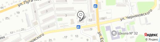 Ритуальные услуги, салон на карте Макеевки