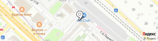 ГАРАНТ-БЕЗОПАСНОСТЬ на карте Люберец