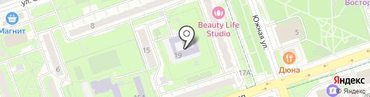 Детский сад №6, Теремок на карте Реутова