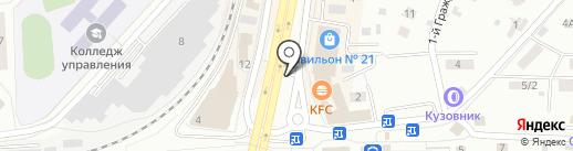 Карафутто на карте Королёва