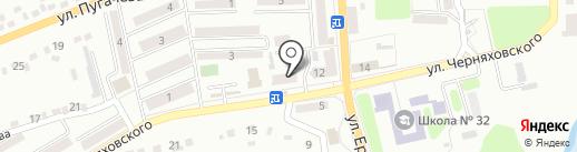 Аптека №43 на карте Макеевки