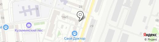 Банкомат, Сбербанк, ПАО на карте Котельников