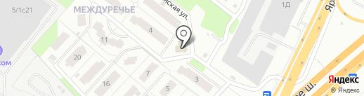 Стройкорпорация на карте Пушкино