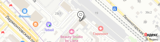 Стройкомплект на карте Люберец