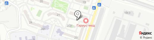 Солид на карте Котельников