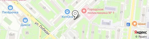 Домовенок на карте Реутова