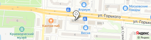 ТехноСток на карте Королёва