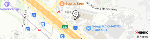 Банкомат, Московский кредитный банк, ПАО на карте Люберец
