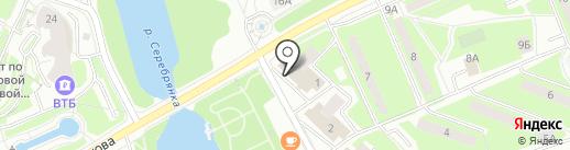 Кружка на карте Пушкино