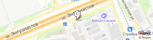 Кафе на карте Реутова