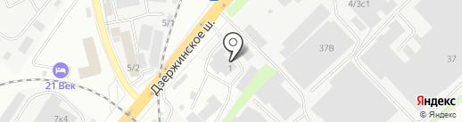 Скайбери на карте Котельников