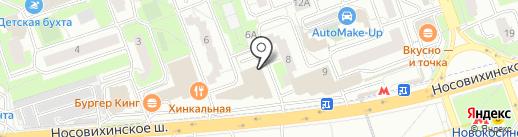 A-Lounge на карте Реутова