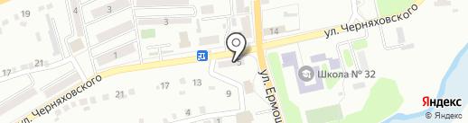 Детская библиотека им. А.С. Макаренко №17 на карте Макеевки