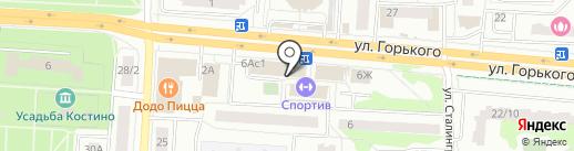 Рыболофф на карте Королёва