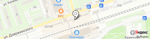 Трансагентство Восток на карте Реутова