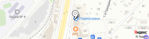 Магазин сумок и кожгалантереи на карте Королёва