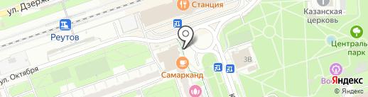 Многопрофильный центр на карте Реутова