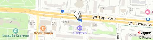 Первая полоса на карте Королёва