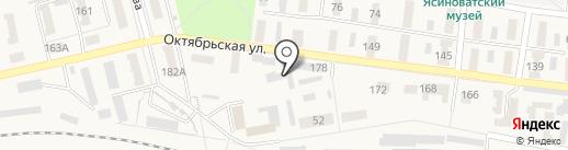 Ясиноватское строительно-монтажное эксплуатационное управление на карте Ясиноватой
