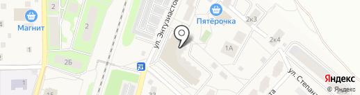 Отдел Управления Федеральной службы государственной регистрации на карте Пушкино