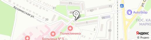 ВИТА на карте Макеевки