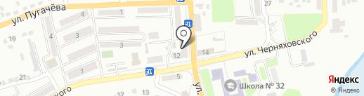 Валери на карте Макеевки