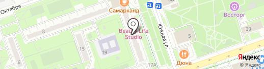 Светлана на карте Реутова