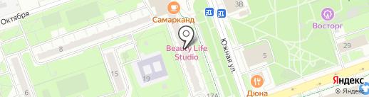 Обувной магазин на карте Реутова