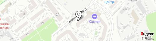 Город ветров на карте Котельников